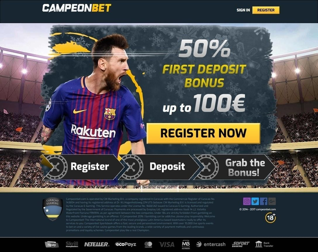 Campeonbet is one of the hottest entries in the sports
