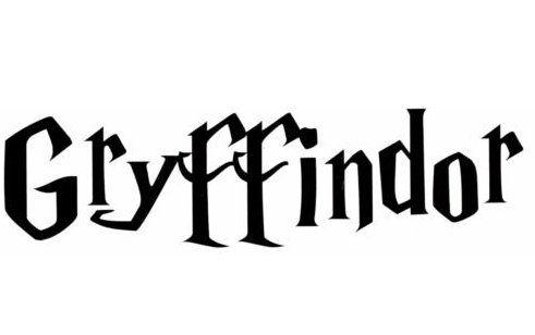 Harry Potter Gryffindor House Vinyl Wall Sticker