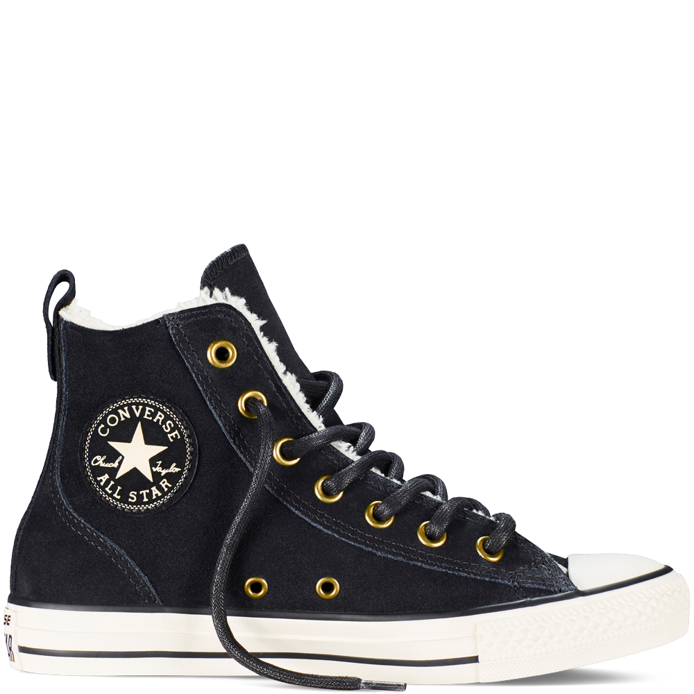 d2e4377dc317d7 Converse - Chuck Taylor All Star Chelsee - Black - Hi Top