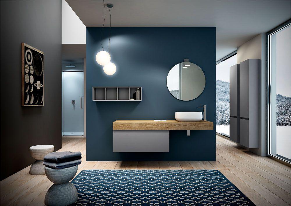 Runder badspiegel mit leuchte runde spiegel f r das bad for Nuova casa classica bad aibling