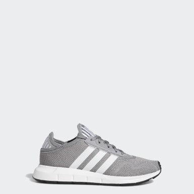 Swift Run X Shoes Grey Three Kids