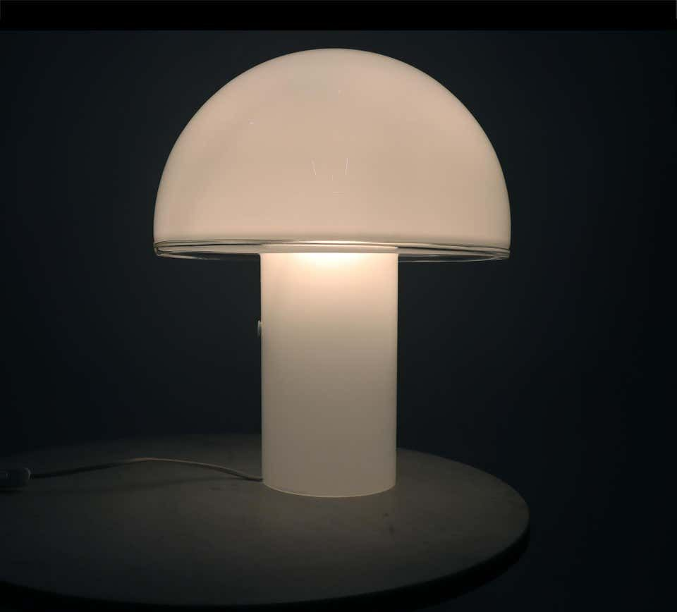 Onfale Big Murano Glass Mushroom Lamp By Luciano Vistosi For Artemide