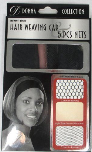 Donna Collection Hair Weaving Cap 5 Pieces Net Set 11070 You Can Find