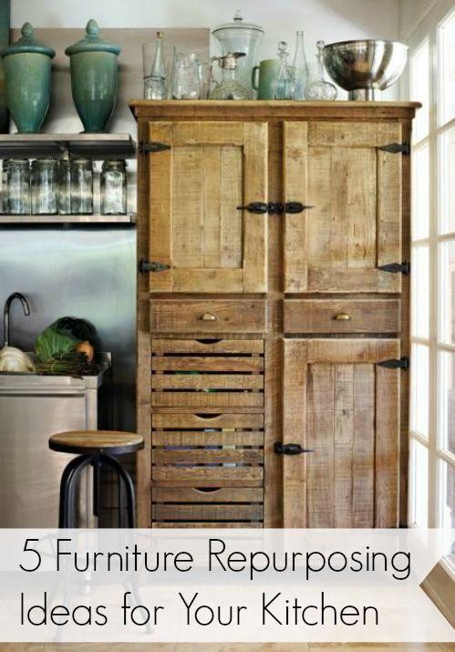 Repurposing Furniture Ideas la alacena - 1 mueble para exhibir tus colecciones - ideas deco