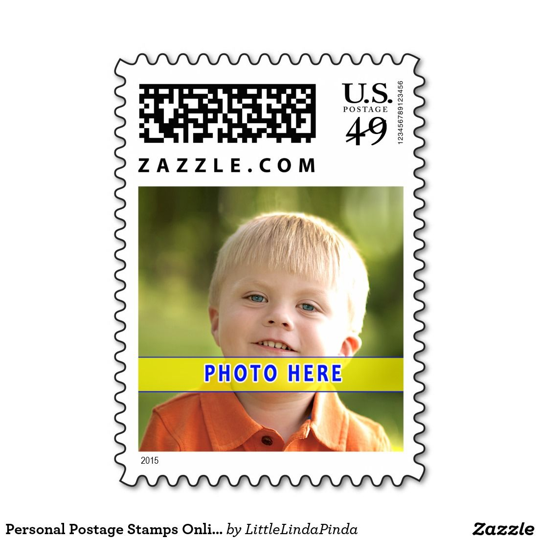 Personal Postage Stamps Online NEW 49 Cent Stamps Zazzle