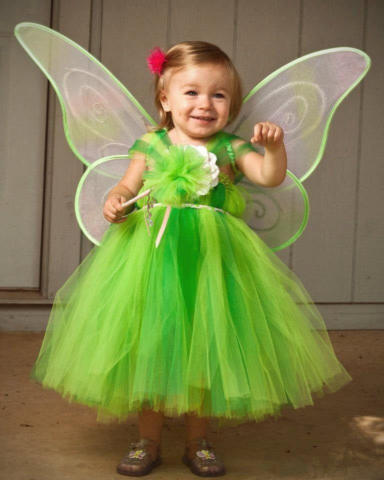 Tinkerbell Tinker Bell Tutu Dress Costume Dress  2014 Halloween