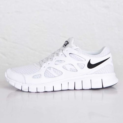 Herren Sneaker Nike FREE RUN 2 Sneaker WeißSchwarz