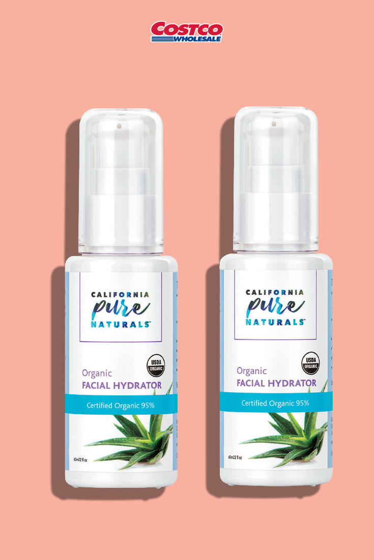California Pure Naturals Organic Facial Hydrator 2 Fl Oz 2 Pack