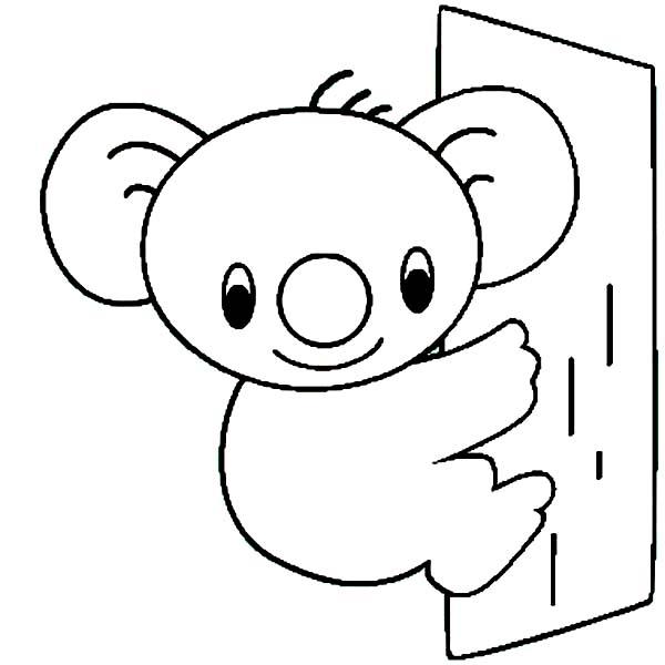 Cute Koala Bear Coloring Page Color Luna Bear Coloring Pages Cute Koala Bear Coloring Pages