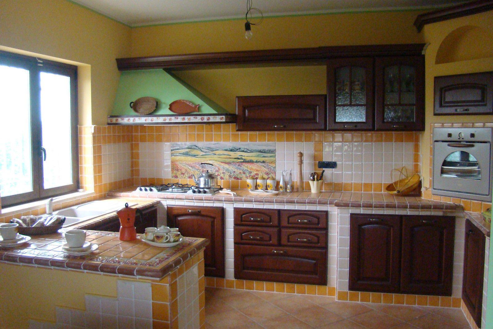 cucina in finta muratura, cucina su misura www