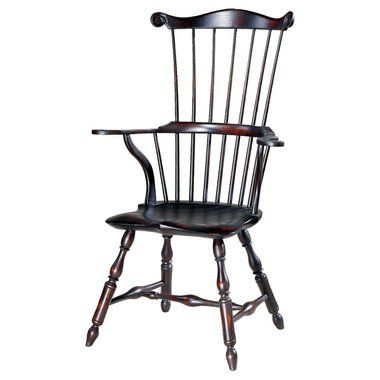 Wonderful 18th Century Antique Reproduction Windsor Chairs Fanbacks And Comb Backs  Serpentine Arm Comb Back