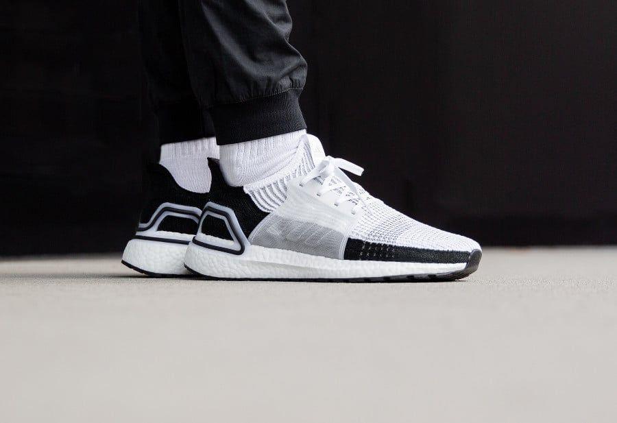 detailed look 53412 1ba92 Adidas UltraBoost 19 Panda Ftwr White Grey Two (2019)