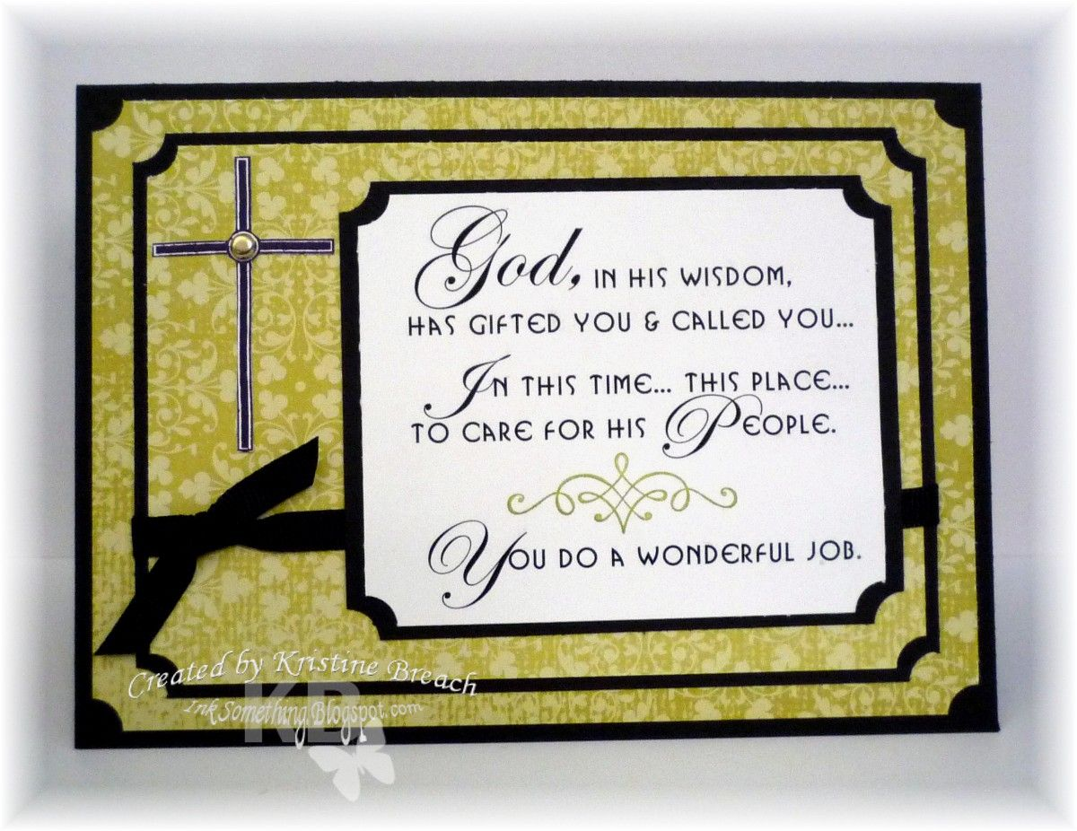 Diy we need smore of your good preaching card for a
