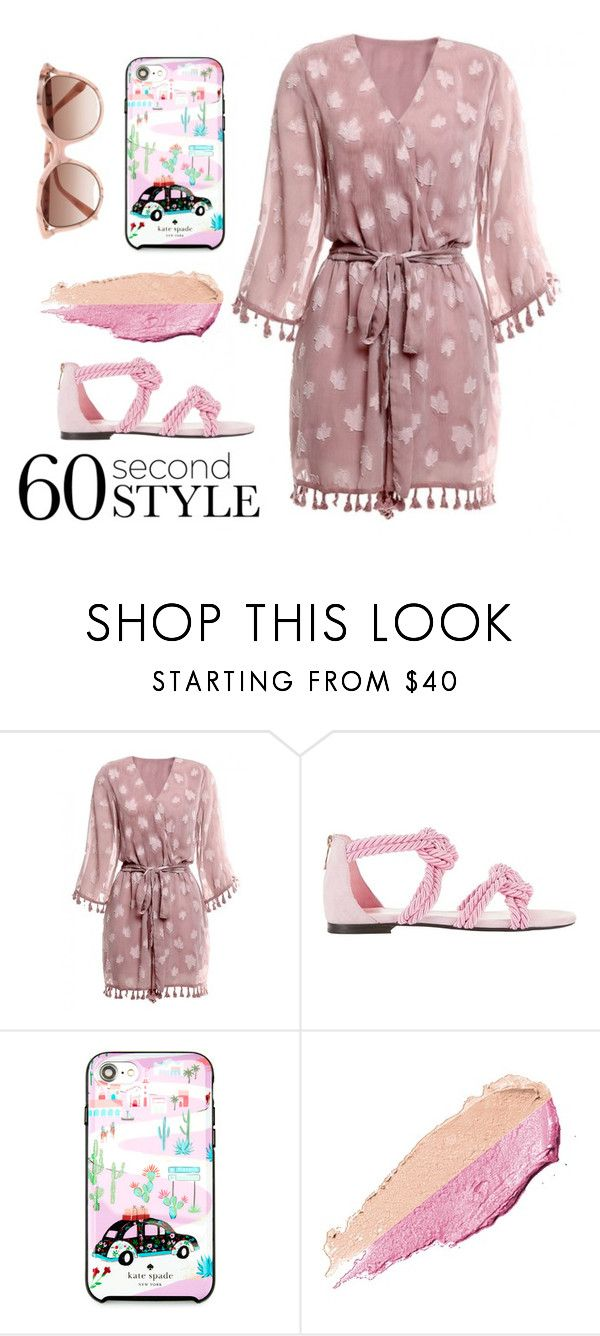 """Instagram style"" by subvilli ❤ liked on Polyvore featuring Maison Ernest, Kate Spade, By Terry, Victoria Beckham, 60secondstyle and PVShareYourStyle"