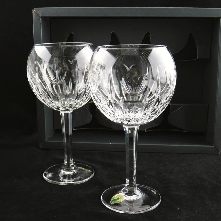 Waterford Crystal Millennium Hearts Love Toasting Goblets Set Of 2 Original Box Waterford Waterford Crystal Waterford Hand Blown Glass
