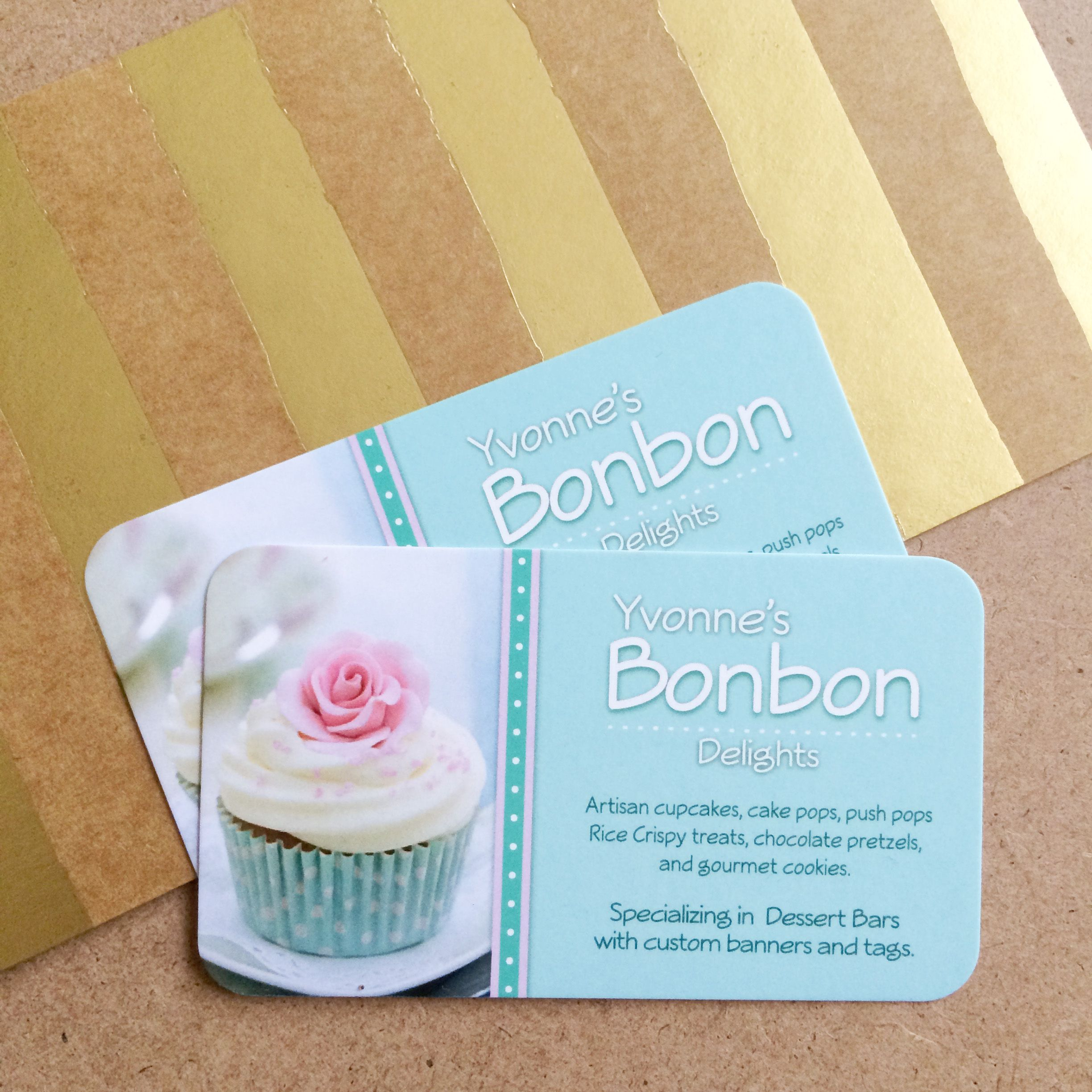custom business cards for bakery shop the best part is how it