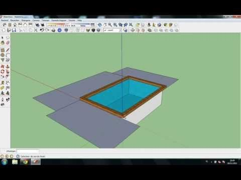 Tutorial How To Make A Swimming Pool In Google Sketchup