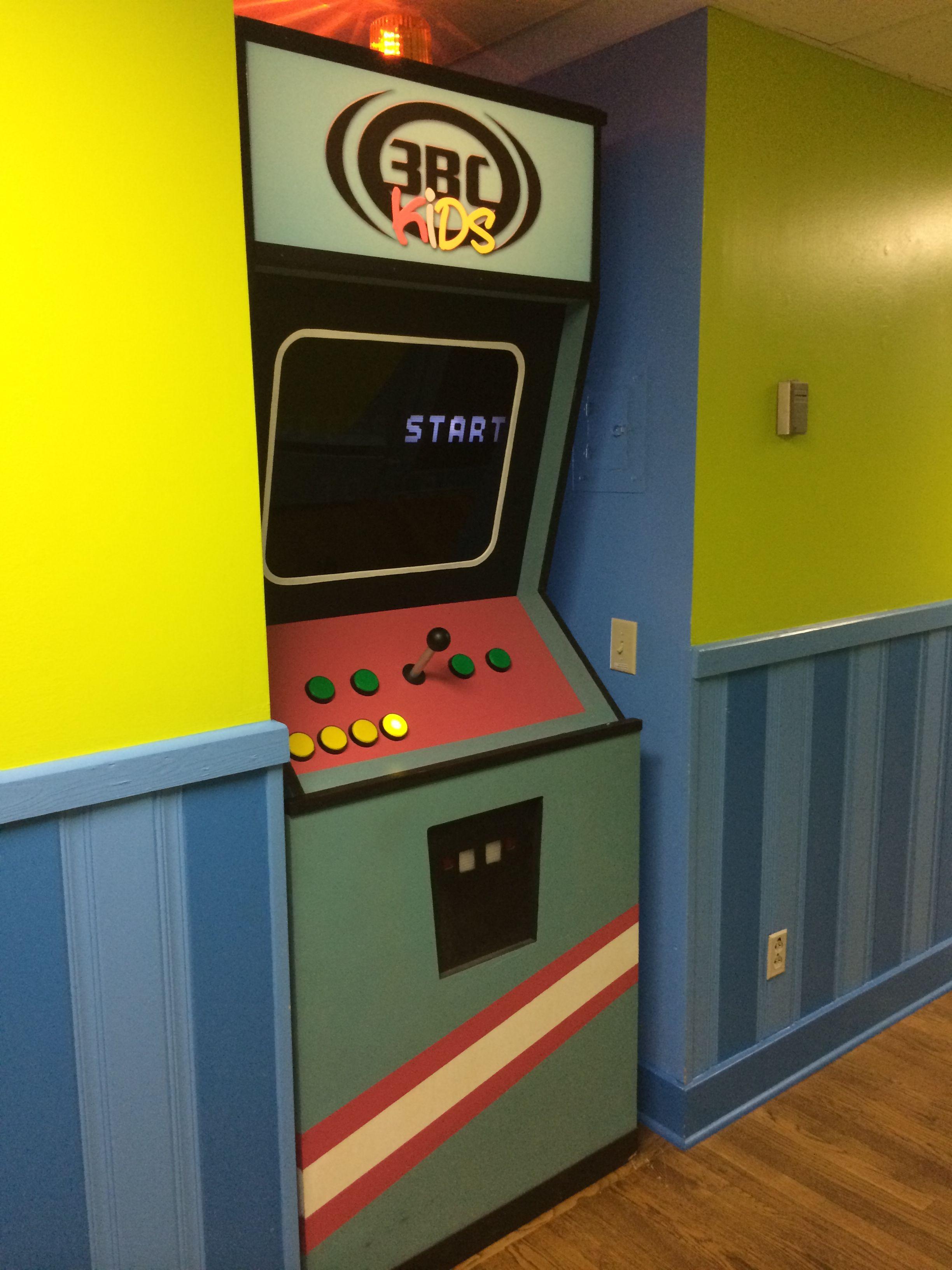 3BC Kids - Arcade Prop on 3rd Floor