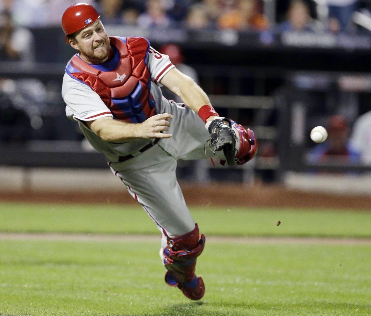 Yankees Acquire Minor League Catcher Erik Kratz From Indians Ahead Of Suspension Appeals Phillies Yankees League