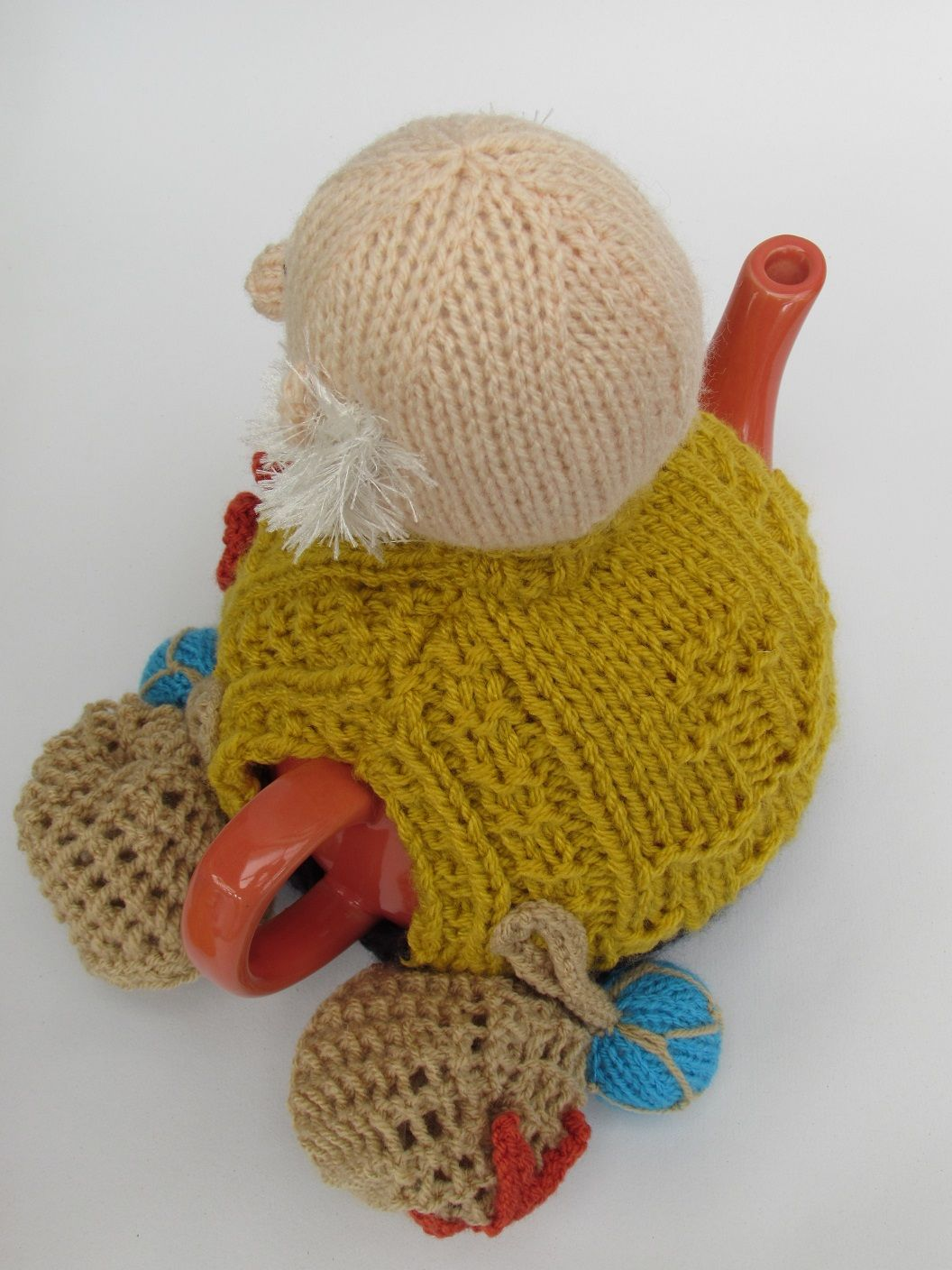 Cornish Fisherman tea cosy knitting pattern | Birds eye view, Tea ...
