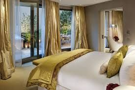 Image result for bedroom in white and gold