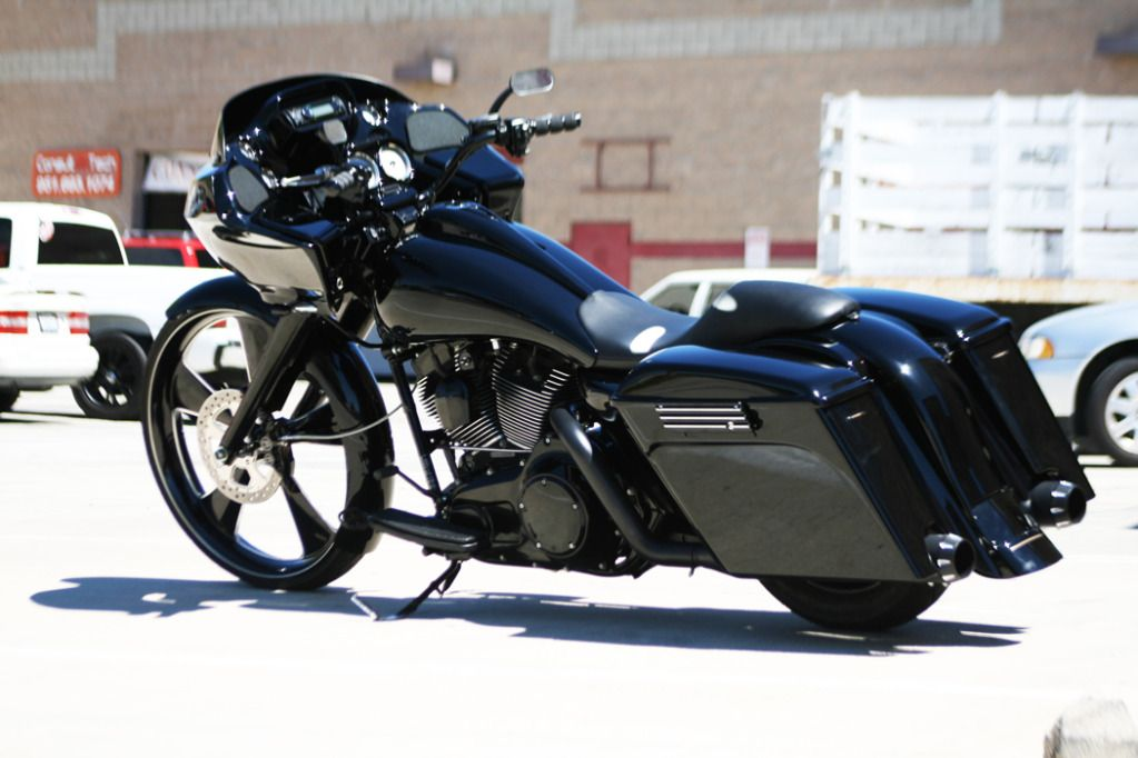 """Built on a 2008 Harley Davidson Road Glide®. 96"""" Twin Cam ..."""