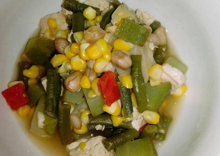 Resep Cara Membuat Sayur Asem Masakanmu Com Resep Resep Sayuran Resep Masakan