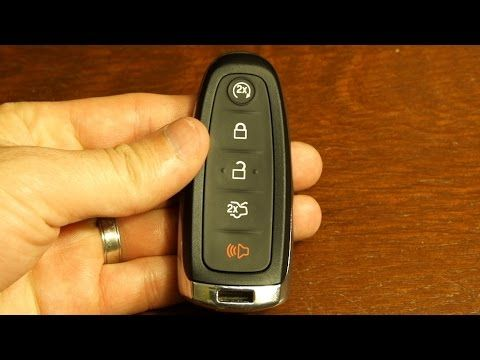 2017 Ford Escape Key Fob Battery Replacement Youtube 2017 Ford Escape Ford Escape Key Fob