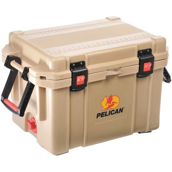 Pelican 32 45q Oc Tan Progear Elite Cooler Model 45qt 45 Quart Pelican Cooler Pelican Elite Cooler Marine Coolers