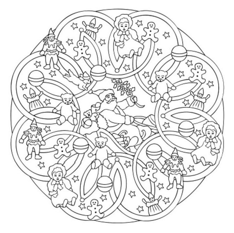 Mandala 615 Christmas Designs 3d Coloring Book By Marty Noble Dover Publications Christ Coloring Books Creative Haven Coloring Books Mandala Coloring Pages