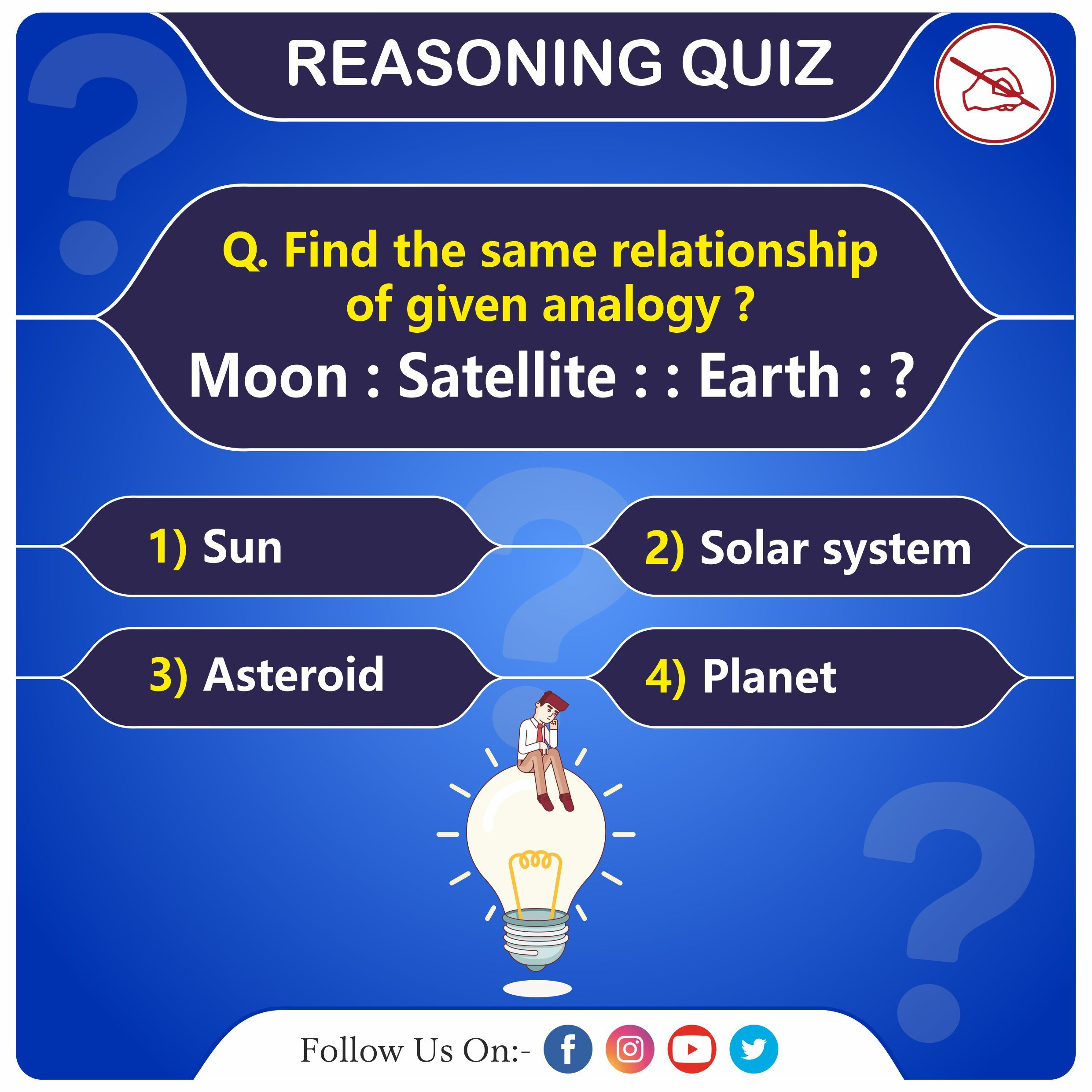 Test Your Knowledge ReasoningQuiz Quiz, Brain teasers