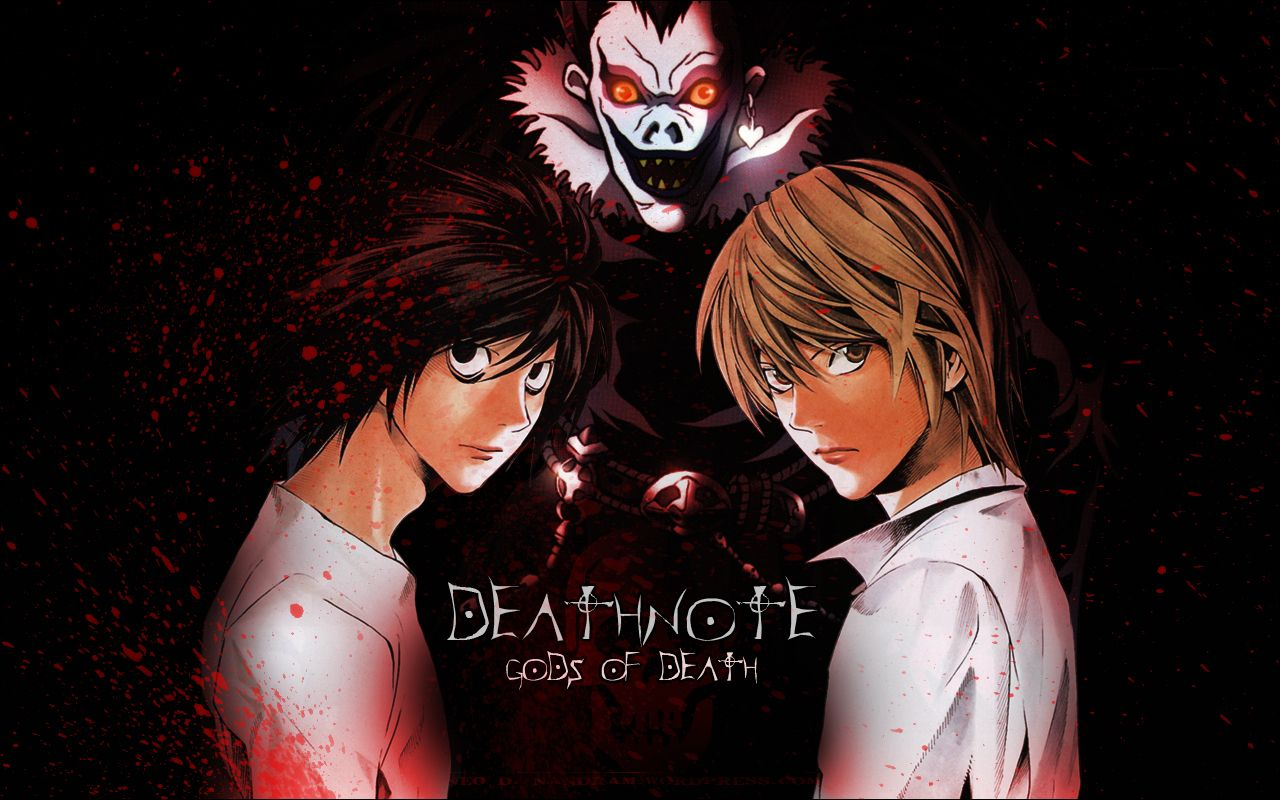 Death Note Libro Anime Death Note Fondo De Pantalla Death Note