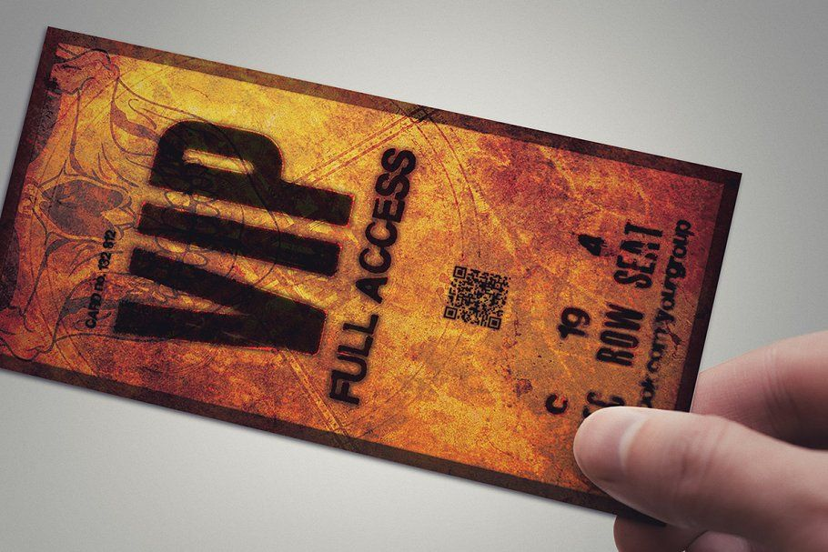 Photo of Halloween VIP PASS card , #AFF, #card#template#package#PASS #affiliate