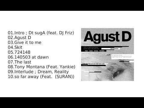 Agust D Agust D Bts Suga 1st Mixtape Full Album Click To