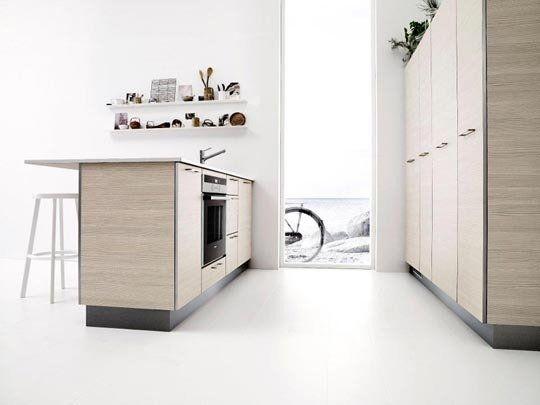 Minimalist danish kitchen designs by kvik ideas for the side