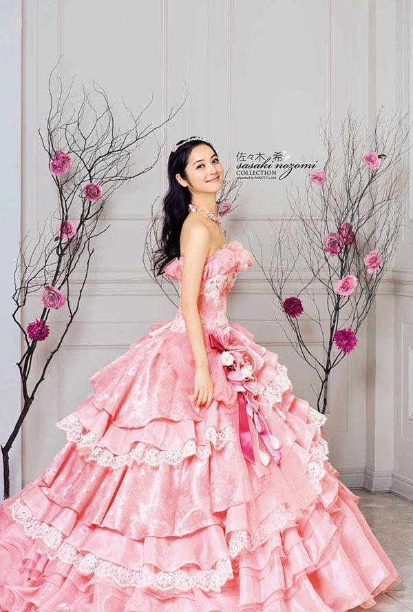 Nozomi Sasaki - Wedding Dress Ads | Fantasy | Pinterest | Vestiditos