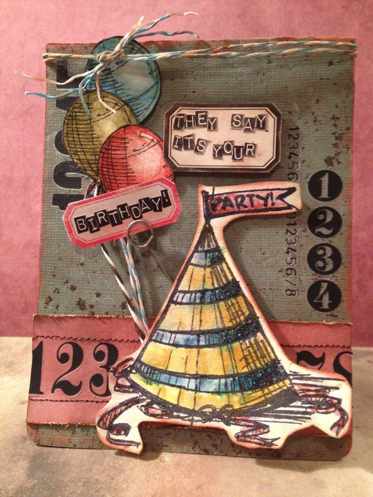 birthday july card 360