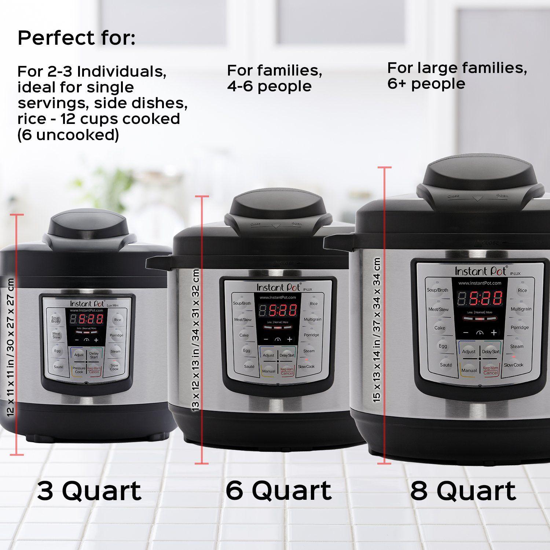Instant pot lux mini qt in multi use programmable pressure