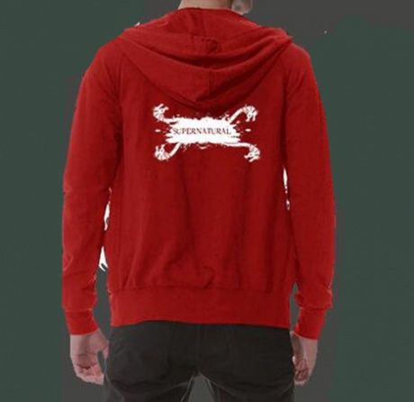 be5c677138c Supernatural dragon hoodie with zipper for men