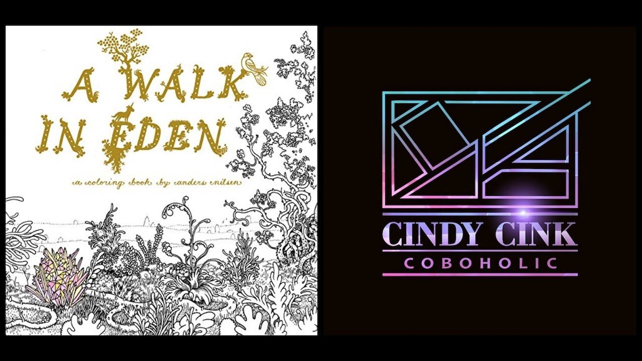 Walk in Eden by Anders Nilsen | Coloring Books To Review | Pinterest