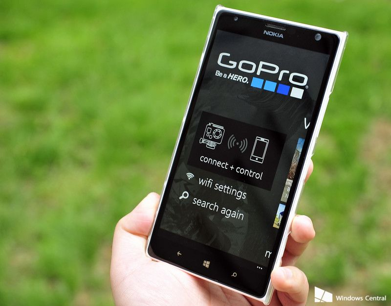 GoPro Windows Phone app updated with pairing process