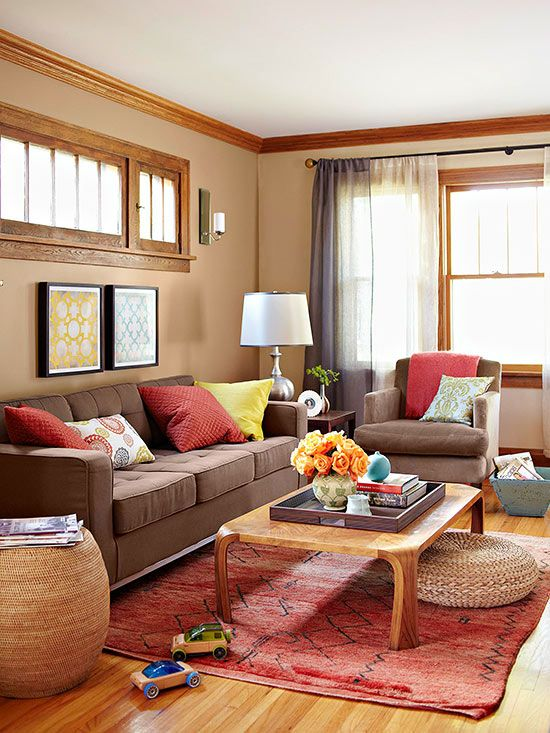nomoney decorating for every room  living room colors