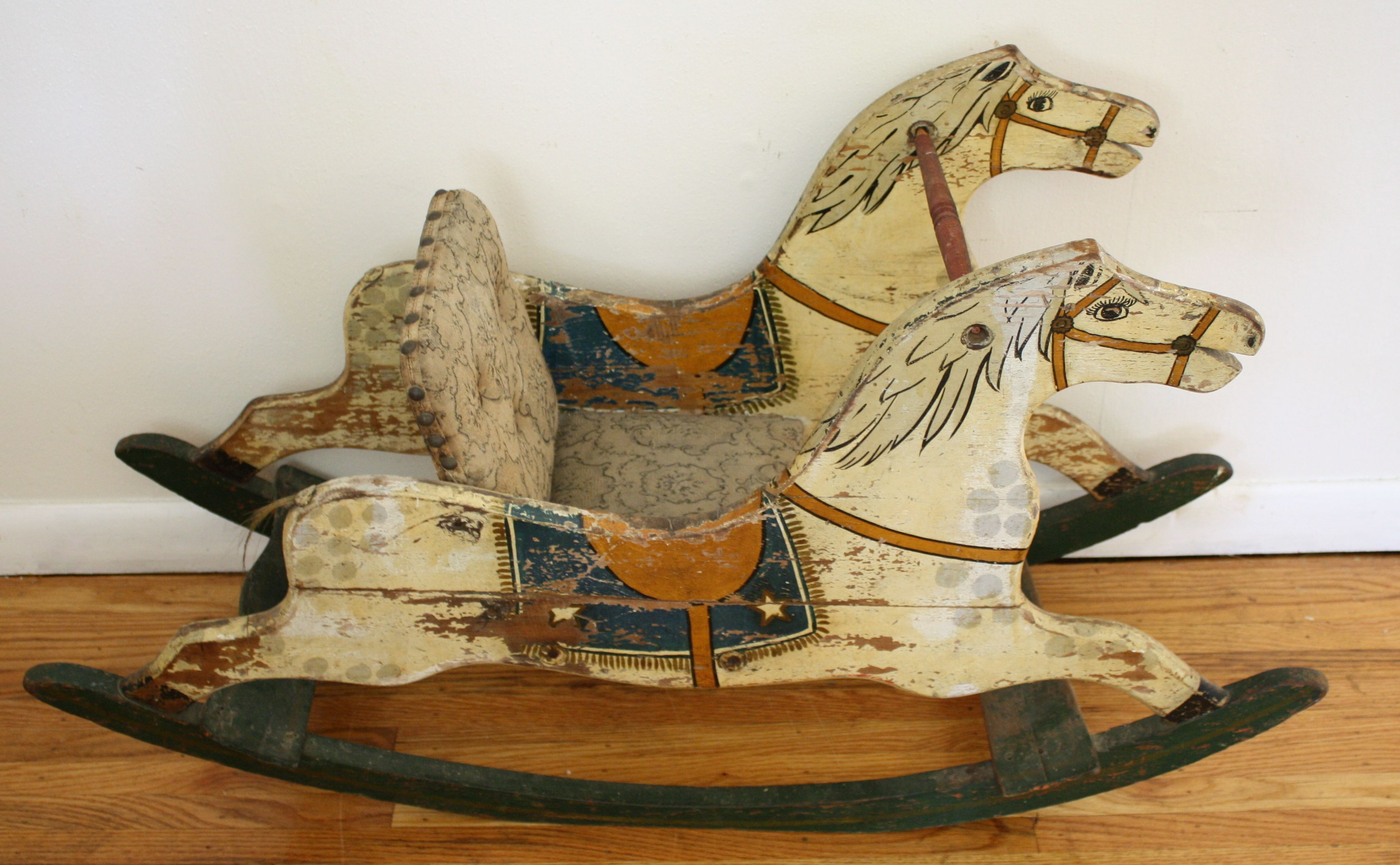 Antique Rocking Horse With Original Patina Antique Rocking Horse Rocking Horse Toy Rocking Horse