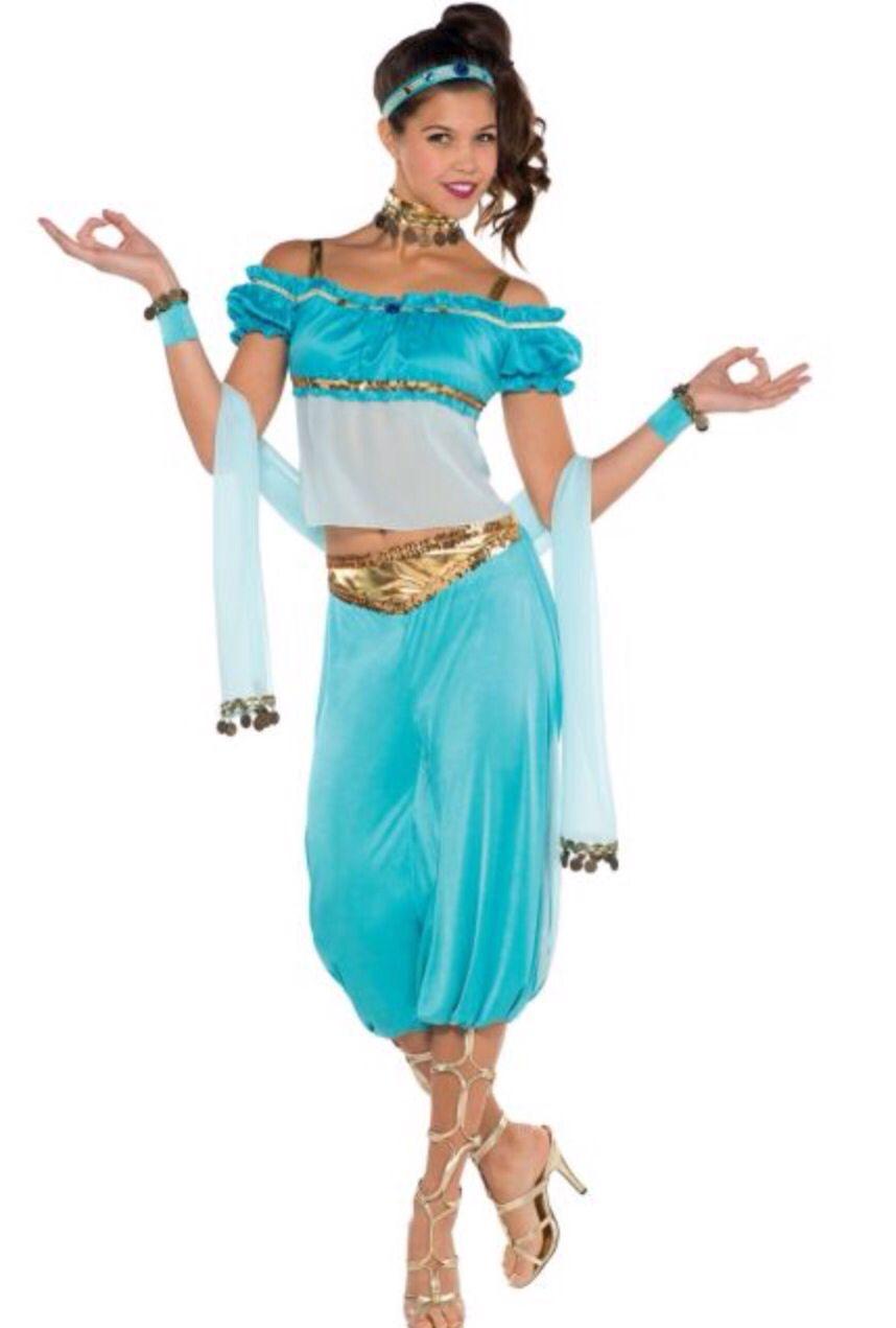 Female Genie Costume Halloween Costume Cute Female Adult Costumes