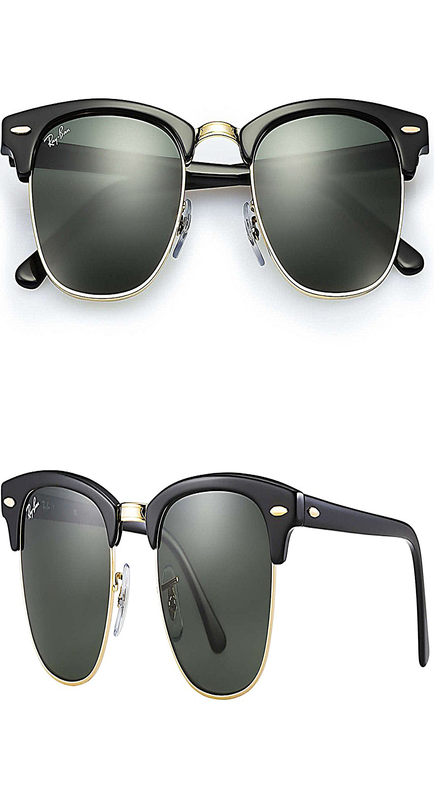 5b616748451 Ray Ban Sunglasses Clubmaster 3016 (49 mm