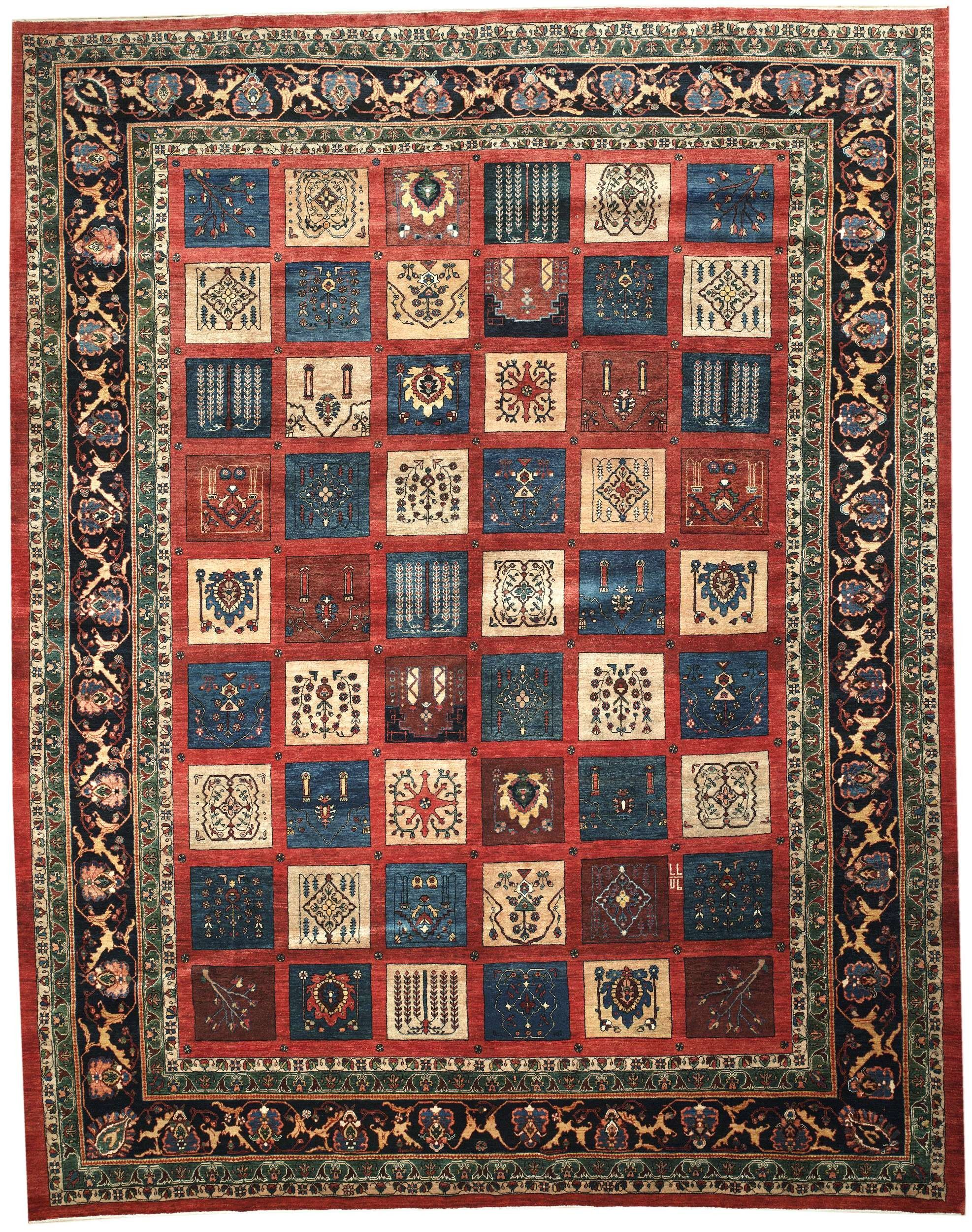 This Beautiful Handmade Knotted Rectangular Rug Is Approximately 10 X 13 New Contemporary Area Rug From Our Large Collection Of Handmade Gabbeh Rugs Area Rugs
