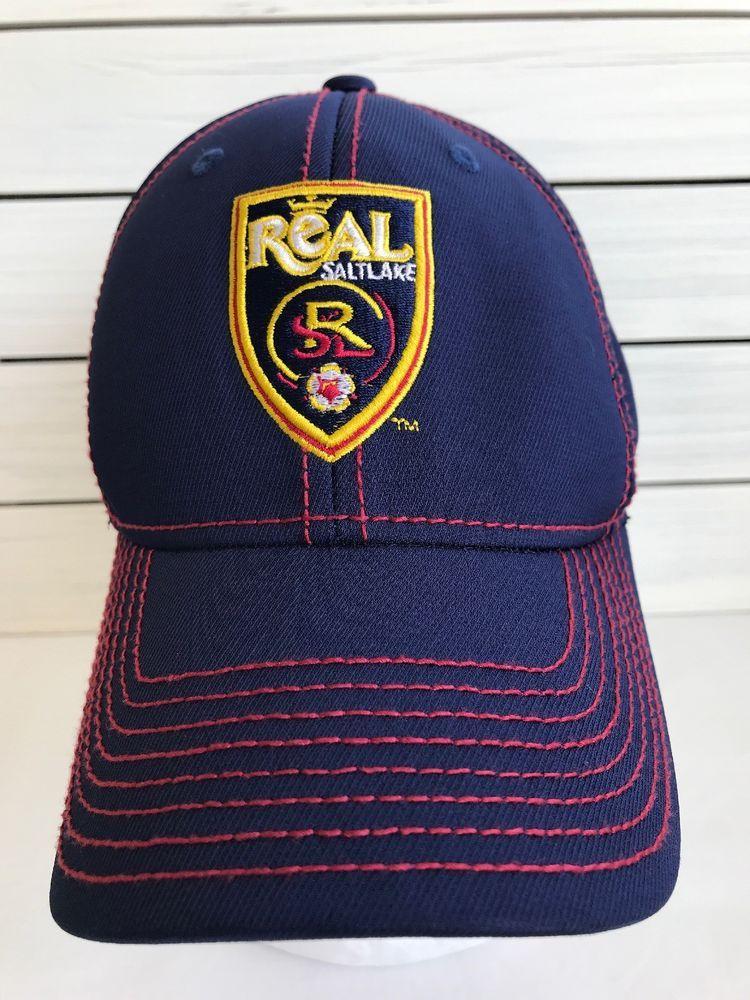 6ab3a782517 Adidas Real Salt Lake City MLS Soccer Futbol Hat Cap ClimaLite Small Medium   adidas  BaseballCap