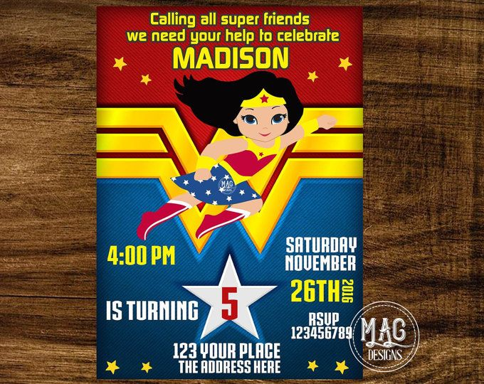 Pin On Wonder Woman Birthday