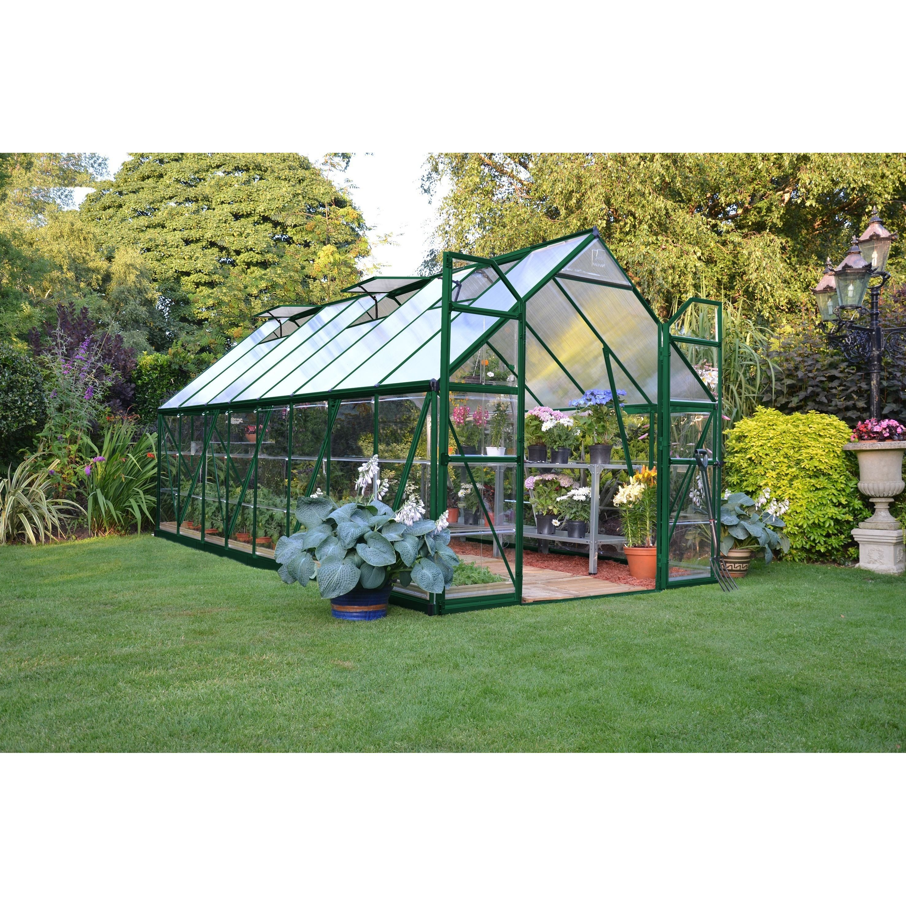 Enjoy this wonderful Green Balance Greenhouse It features two 2