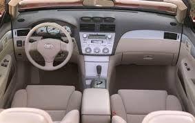 Great Toyota Camry Solara SE V6 Convertible Interior 2004